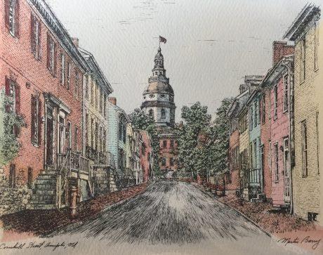 Cornhill St Annapolis Md