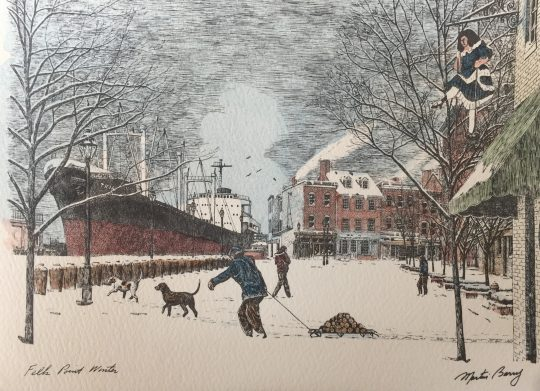 Fells Point Winter