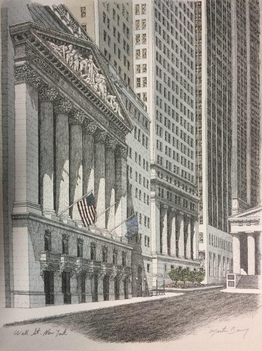 Wall Street, NYC