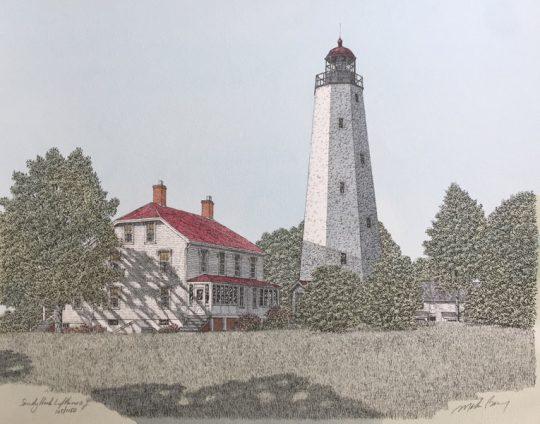 Sandy Hook Light Nj