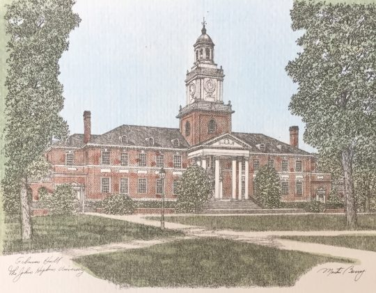 gilman hall johns hopkins