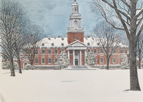Johns Hopkins Winter Gilman Hall