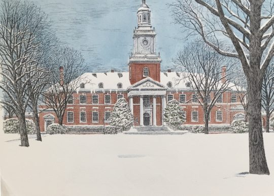 Johns Hopkins Winter Gilman Hall