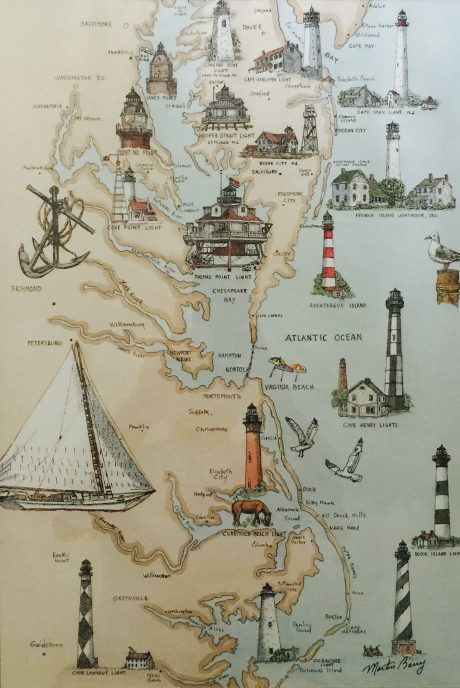lighthouses of the midatlantic