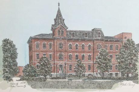 university hall purdue university