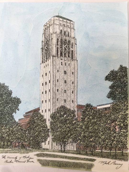 university of michigan tower